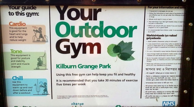 Outdoor gyms in London