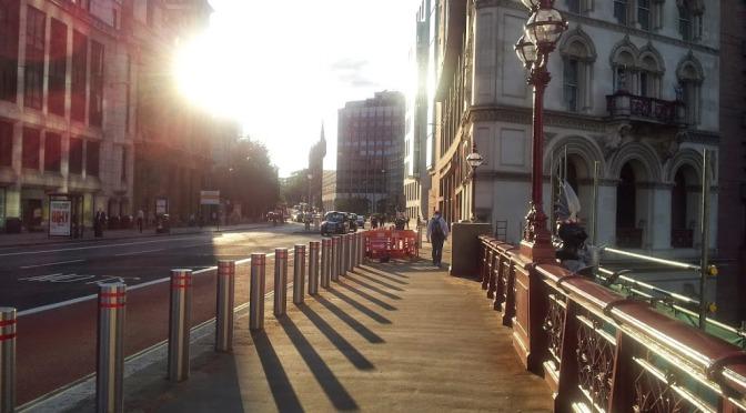 3 anni a Londra