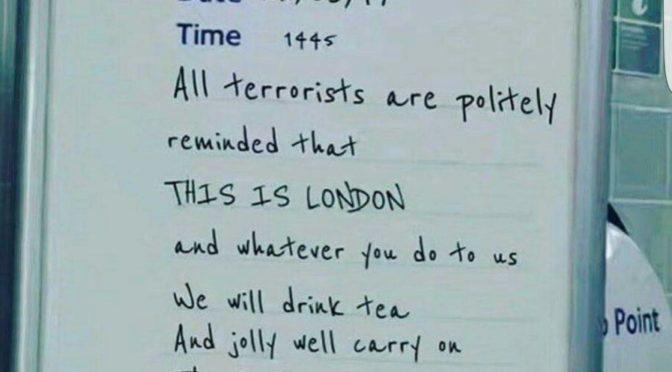 2 giorni dopo l'attentato a Parliament Square