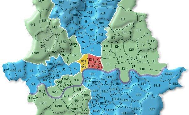 Zone e quartieri di Londra
