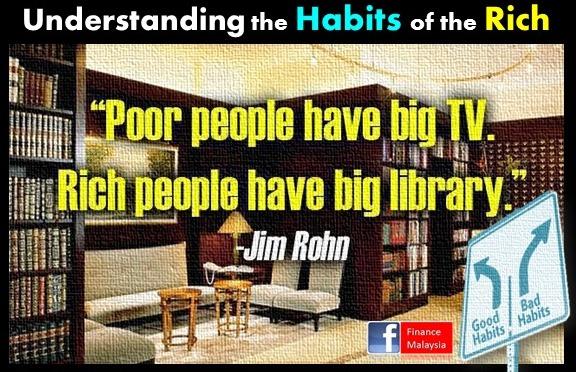 Le abitudini dei più ricchi