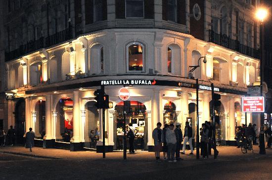 Fratelli La Bufala – Ristorante Pizzeria a Piccadilly